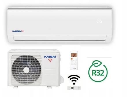 KAISAI FLY - Klimatyzator ścienny inverter split z modułem WiFi w komplecie 2,5 kW