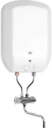 Ogrzewacz wody pojemnościowy elektryczny POC.GB.5.LUNA.INOX.PL, nadumywalkowy, ciśnieniowy. Bateria w komplecie.