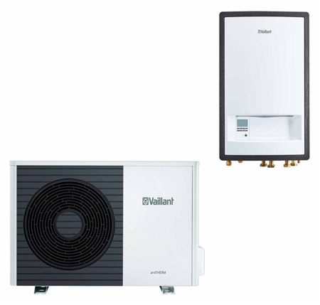 VAILLANT - Pompa ciepła aroTHERM VWL 105/5AS + VWL57/5IS + Multimatic VRC 700